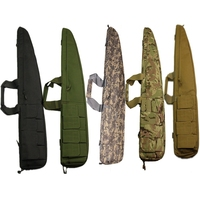 High Quality Nylon Tactical 90cm Rifle Bag 4 Magazine Pouch Soft Bag for Military Combat Shooting