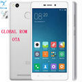"Original Xiaomi Redmi 3s 4100mAh Snapdragon 430 Octa Core 2G RAM FDD LTE 4G Fingerprint ID 5.0 "" 1080P MIUI 8 Mobile Phones"