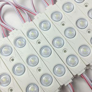 Image 2 - 1000 pçs/lote atacado 2835 injeção led módulo 3led lente 160 graus, 12 v 1.5 w publicidade luz led módulos