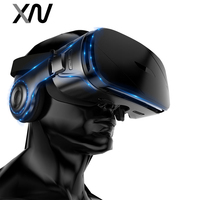 XIAOWU 3D Smartphone AR Augmented Reality glasses Mobile Box Headset Virtual Reality VR helmet Film AR Video Game for phone