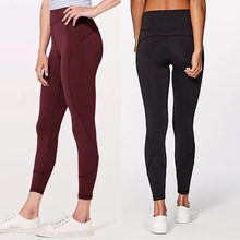 BARBOK Soft Hip Up Yoga Fitness Pants Women 4-Way Stretchy Sports Tights Anti-sweat High Waist Gym Athletic Seamless Leggings