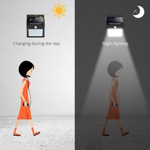 Image 5 - พลังงานแสงอาทิตย์ไฟ LED สวนกลางแจ้งกันน้ำ LED โคมไฟสนามหญ้ากลางแจ้งรั้ว Garden pathway ลานแสง