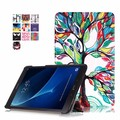 Folio PU leather triangle stand cover case thin smart case  for Samsung Galaxy Tab A 10.1  SM-T580 T580N T585 tablet +free gift