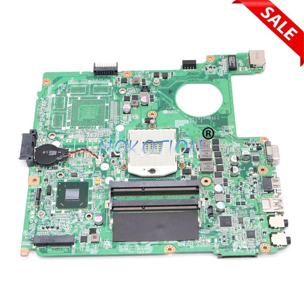 купить NOKOTION NBM0Q11001 NB.M0Q11.001 Main board For Acer aspire E1-431 E1-471 Laptop Motherboard DAZQSAMB6F1 HM77 UMA DDR3 work по цене 5779.79 рублей