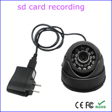 32G TF card slot loop recording home security indoor dome camera dvr, usb video camcorder