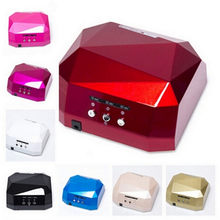 Diamond Shaped 36W UV Led Lamp Nail Dryer Lamp Nail UV Lampa Curing For CCFL&LED Gel Nails Polish Manicure Manicure Tools(China)