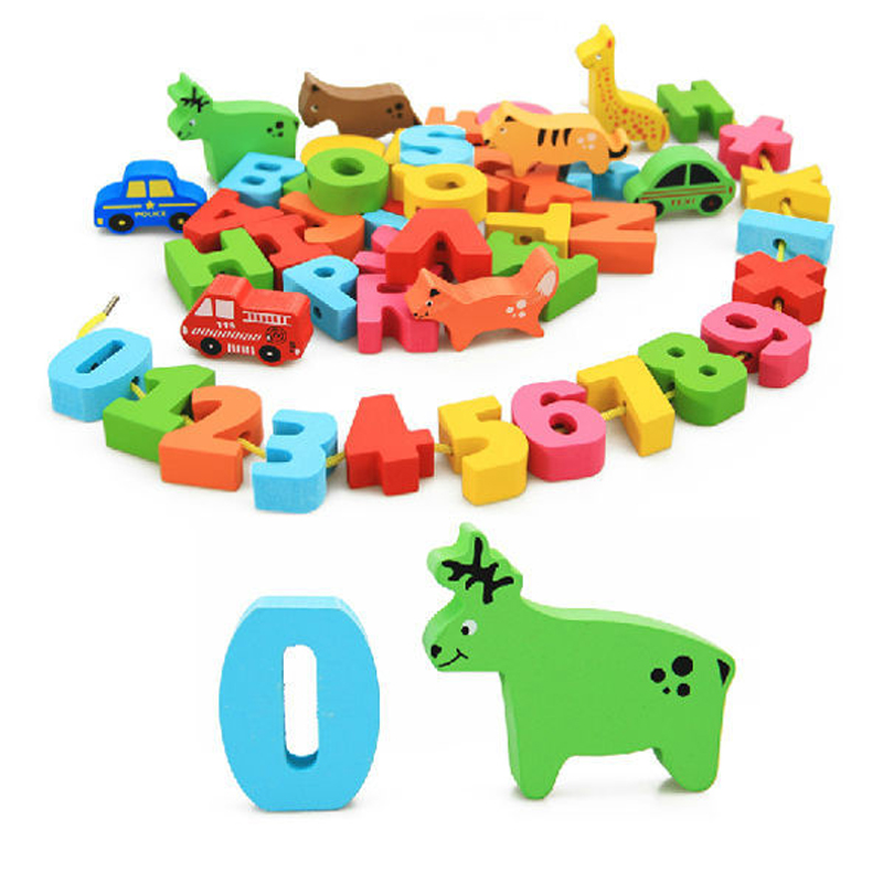 купить New Wooden Montessori Educational Toy Teaching Math Mathematics Number Board Preschool Educational Development Toy Children KidS недорого