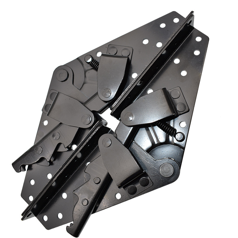 1set Folding bed lift up hinges 3-Position Angle mechanism lazy sofa support self-lock hinge Furniture hardware accessories1set Folding bed lift up hinges 3-Position Angle mechanism lazy sofa support self-lock hinge Furniture hardware accessories