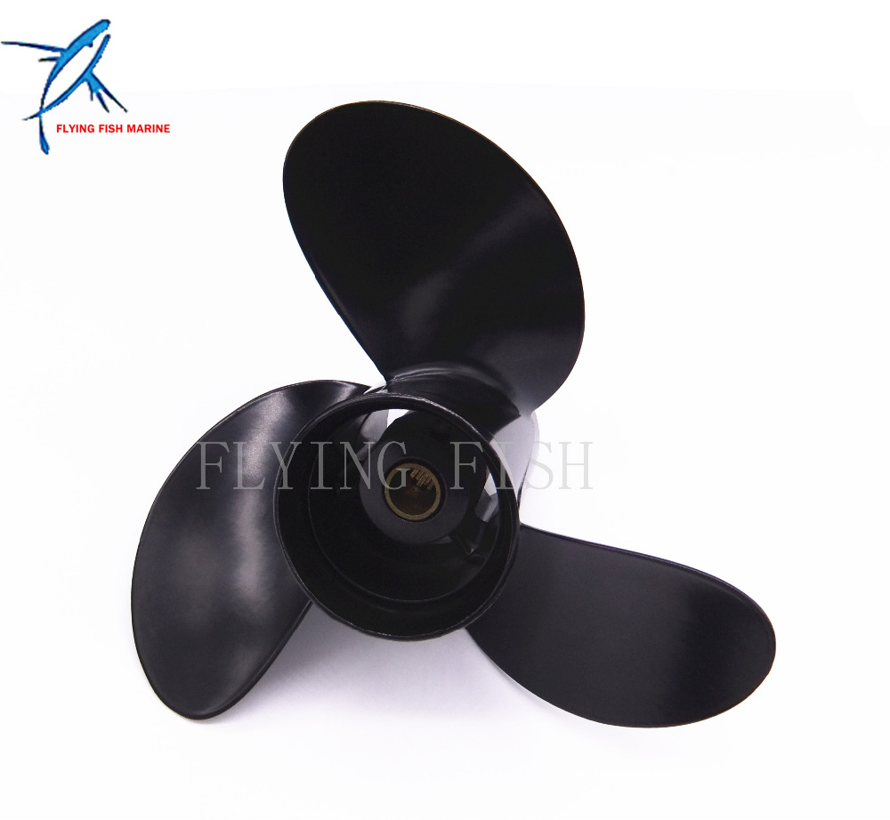 4-StrokePitch 12 spine Boat Engine Aluminum Propeller  8.5x9  For Mercury Mariner  8HP 9.9HP Outboard Motor 8.5 x 9