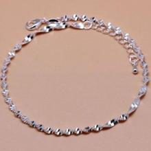 imixlot 925 Sterling Silver Korean Version of the Simple Anklet for Women Fashion Wild Stars Beach Anklet Jewelry new summer europe and america anklet women fashion simple stars beach anklet fashion jewelry small goods