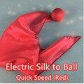 Eléctrico de seda a - velocidad rápida ( rojo ) - trick, magia de seda, trucos de magia, props, comedia, mental