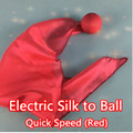 Electric Silk to Ball - Quick Speed (red) -Trick ,silk magic,ball magic,magic tricks,props,comedy,mental