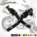 Black CNC Adjustable Motorcycle Brake Clutch Levers For Benelli TNT300 TNT600 BN600 BN302 Stels600 Keeway RK6/BN TNT 300 302 600