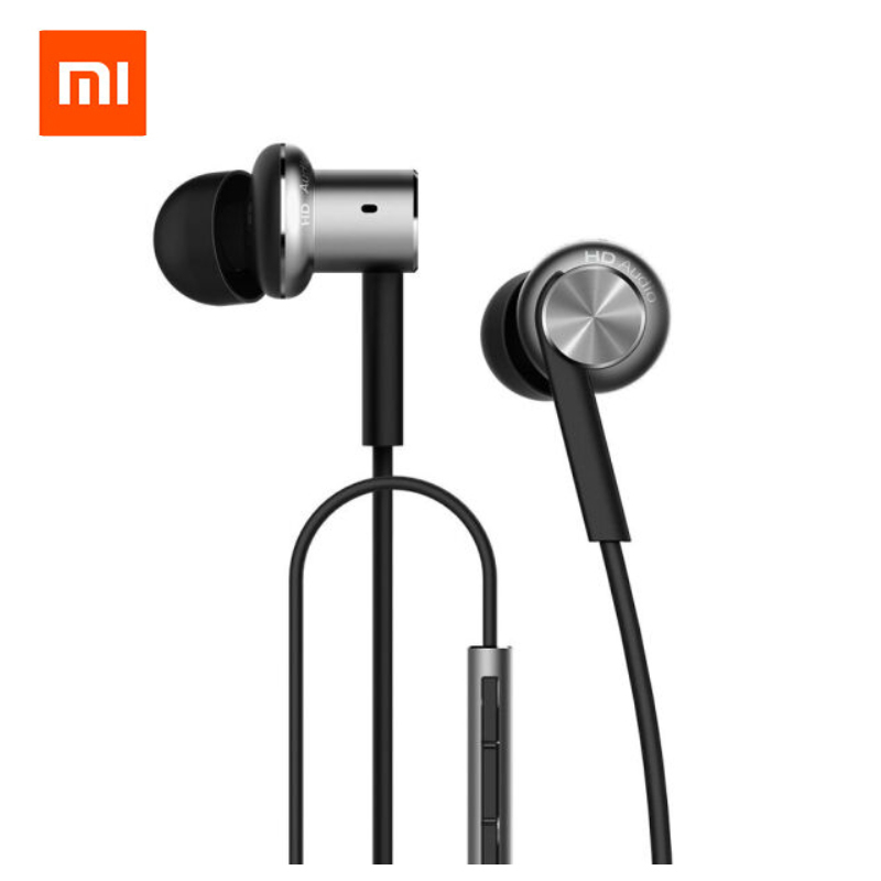Original Xiaomi Hybrid Earphone Mi In-Ear Earphone Piston 4 Dual Drivers Headset with Mic for Samsung Huawei Android Phones changchai 4l68 engine parts the set of piston piston rings piston pins