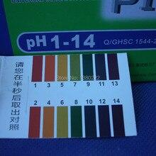 80 Полосы Полный Спектр рн Щелочная Кислота 1-14 Тест Бумага Вода Лакмус Тестирование Комплект pH тест-полоски