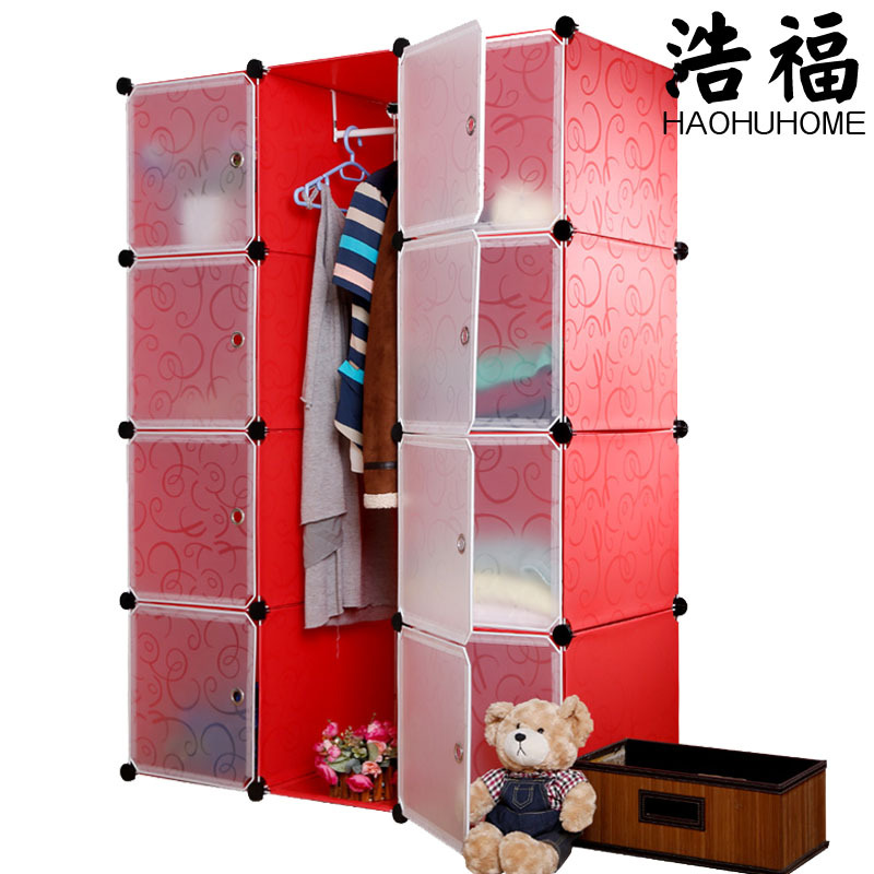 Cheap DIY magic piece combination clothes closet storage rack simple plastic storage shelving storage cabinets bedroom-in Wardrobes from Furniture on ...  sc 1 st  AliExpress.com & Cheap DIY magic piece combination clothes closet storage rack simple ...