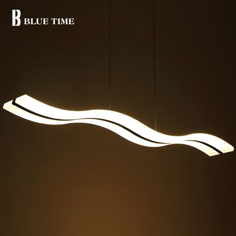 Minimalist Modern Led Pedant Lights For Living Room Dining Room Kitchen Luminaire Acrylic 38W LED Pendant Lamp Lighting Fixtures
