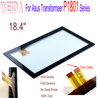 WEIDA Screen Replacment 18.4 For Asus Transformaer P1801 Series Tablet PC Touch Screen Digitizer Panel Glass