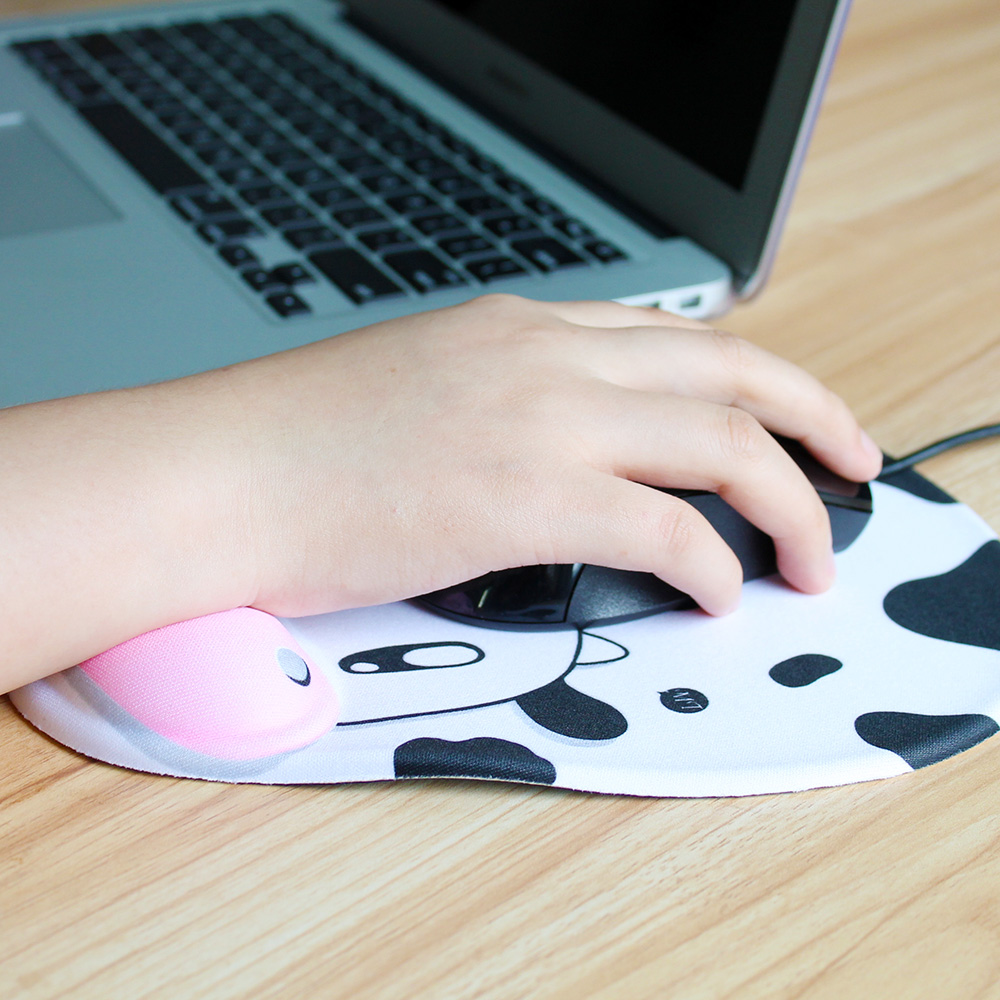 K-KPC1370 Wrist Rest Mouse Pad Anti-Slip Computer Notebook Gel Mouse Mat Gaming Mousepad (4)