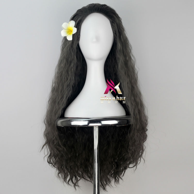 halloween cosplay traje peruca para menina adulto com flor