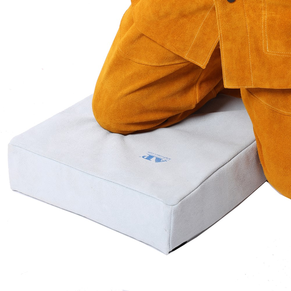 Welding Mat Welder Pad Flame Abrasion Resistant Leather Worker Kneepads Welding Cushion