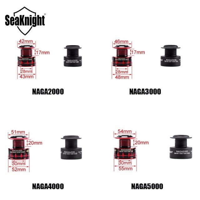 NAGA 2000 3000 4000 5000 Spinning Reel 11BB 7.5kg 5.2:1 4.7:1 Aluminum Spool Wheel Carp Fishing Tackle Spare Spool