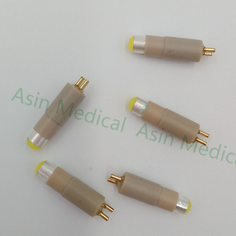 5 pcs Dental handpiece serat optik lampu LED bulb kompatibel untuk NSK mutiflex coupling