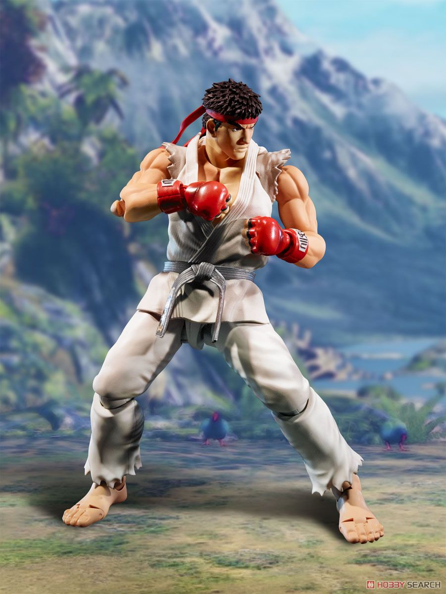 S.H.Figuarts Street Fighter Ryu video Game Character Action Figure игра ultra street fighter iv [playstation 3 русская документация]