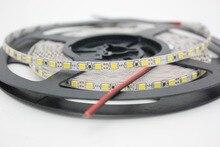 """12 V 2835 LED רצועת 5 מ""""מ Slim רצועת IP20 ללא עמיד למים 120 נוריות/M 5 m/רצועת גליל הוביל לבן/לבן חם לבן PCB"""