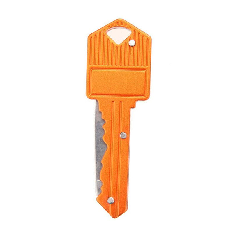 TIMEMORE складной для активных занятий карманные складные ножи ключ подвесной нож Мини Кемпинг кольцо нож инструмент нож 4 цвета - Цвет: Orange