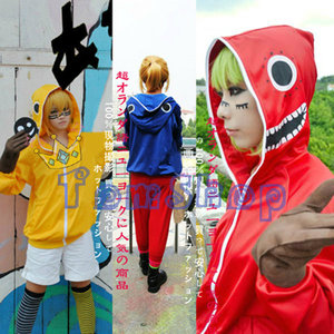 Image 3 - Costume Cosplay Anime Vocaloid matriyoshka Miku Len Rin Gumi, veste à capuche unisexe, manteau à fermeture éclair à capuche