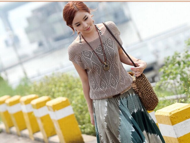 Корея тенденция весна лето осень Летучая Мышь Кабо Кардиган Вязание Пальто леди Пончо шаль обертывания Свитер #3633