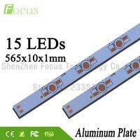 1 W 3 W 5 W LEVOU Placa Base De Alumínio 565mm PCB Placa de Dissipador de Calor DIY para 15 30 45 60 75 90 105 120 W Contas de Luz Watt