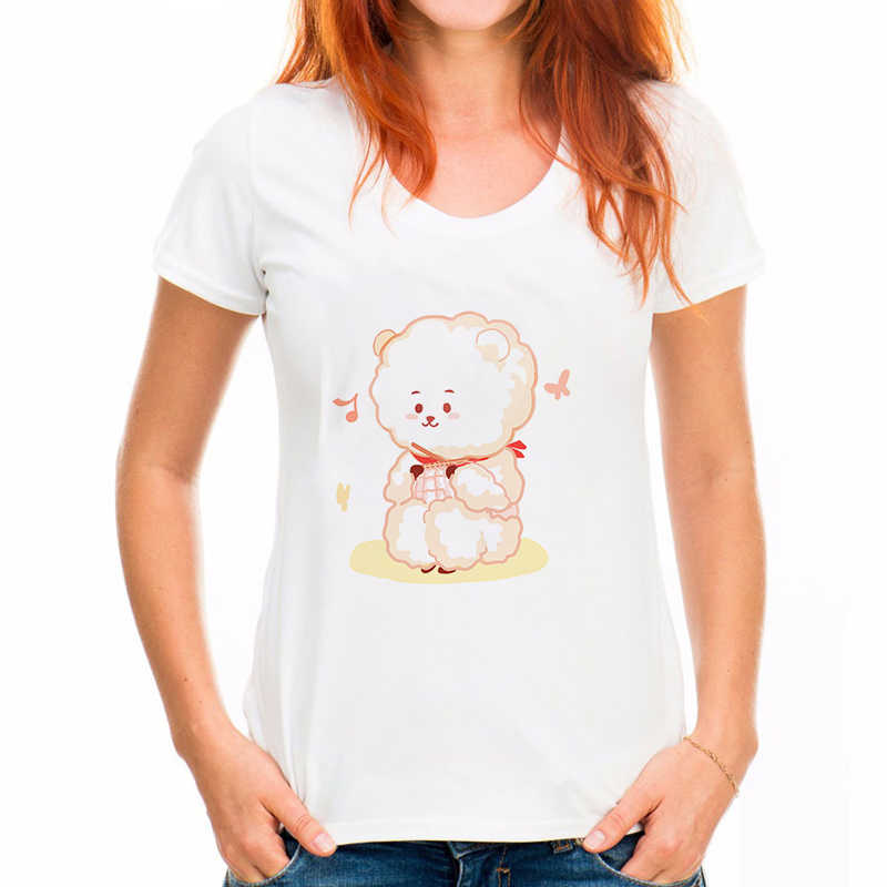 Mais tamanho do verão de manga curta feminino t camisa menina engraçado lua gato impressão punk gótico topo t camisa kawaii t camisa femme das mulheres