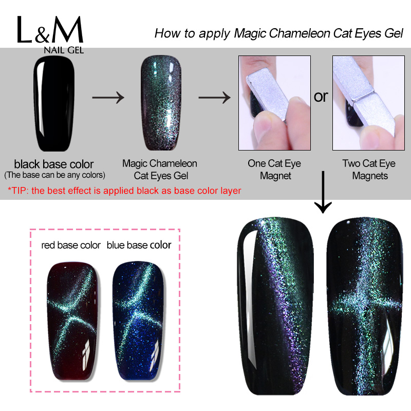 Awesome Magic Gel Nail Polish Vignette - Nail Art Ideas - morihati.com