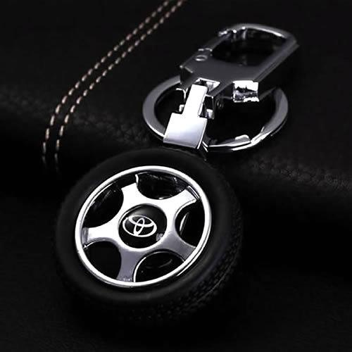 Toyota Car Logo Keychain (8 Shapes)