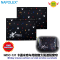 Car Accessories Mickey mouse cartoon car side window sunshades (1 Pair) free shipping WDC-131