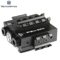 Векторная оптика Viperwolf Тактический 532nM зеленый лазер и 850nM невидимый инфракрасный ИК лазер Designator Combo Sight fit ночное видение