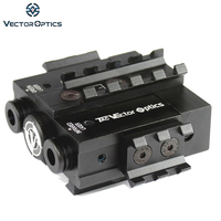Vector Optics Viperwolf Tactical 532nM Laser Verde & 850nM Invisível Infrared IR Laser Designativo Combo Sight fit Night Vision
