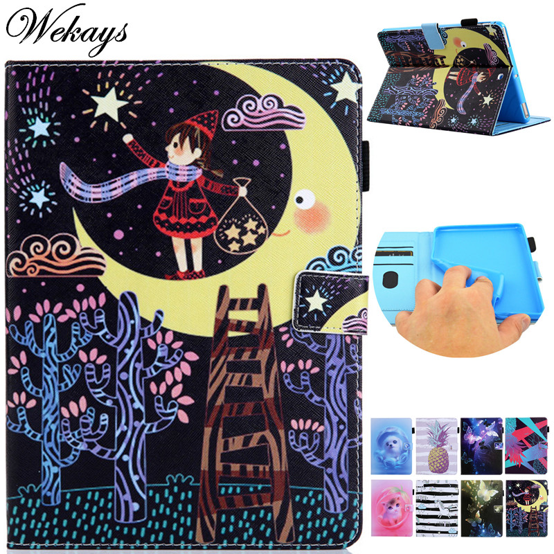 Tablet Accessories Lower Price with Wekays Cartoon Moon Girl Leather Fundas Case For New Amazon Kindle Paperwhite 4 2018 6.0 10th Generation Cover Cases Paperwhit4 Utmost In Convenience