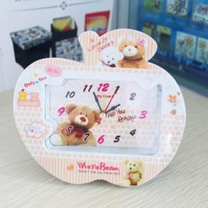 DHL free shipping cute bear alarm clock 80 pieces/lot