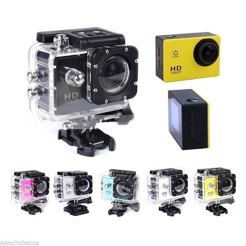 hd 720p helmet camera action cam waterproof act202btw