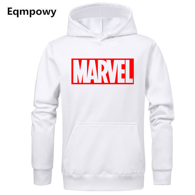 Hot 2018 Autumn And Winter Brand Sweatshirts Men High Quality MARVEL letter  printing fashion mens hoodies d1a3001f5