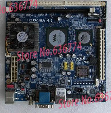 Mini-itx motherboard embedded industrial motherboard epia vb7001