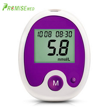 Blood glucose meter and test strip lancet medical blood diabetes tester