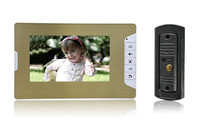 7 Inch TFT Monitor Metal Camera Intercom Video Door Phone