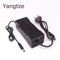 Yangtze Auto Stop 43.8V 2A Lifepo4 Lithium Battery Charger For 36V Battery Pack Cooling with Fan Inside