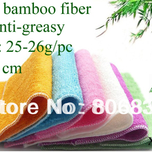Washing Dish-Clothes Bamboo-Fiber Anti-Greasy-Color Magic-Wipping/cleaning-Rag 74pcs/Lot