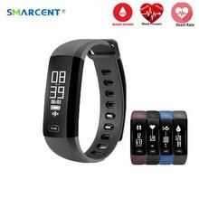 Smarcent M2 Smart Band heartrate Приборы для измерения артериального давления кислорода оксиметр спортивный браслет часы inteligente Pulso для IOS Android Для мужчин