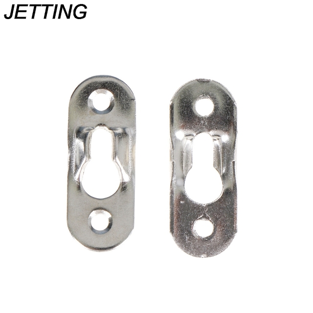 20pcs Lot Picture Hangers Metal Keyhole Hanger Fasteners